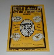 Car Wars Uncle Albertand039s Auto Stop And Gunnery Shop 2035 Catalog Vf Steve Jackson