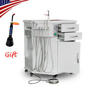 Us Dental All In One Delivery System Cart Unit + Curing Light + Scaler 600w 110v