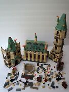 Lego Harry Potter 2010 Hogwarts Castle 4842 Incomplete Set Lot With Extra Pieces