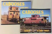 Cabooses Of North America Volumes 1 And 2 James T. Bradley Clean Books No Damage