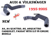 V6 Engine Thermostat Cooling Hose To Pipe For Audi And Vw A4 A6 Passat Genuine