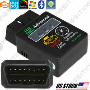 Car Engine Check Live Data Diagnostic Fault Code Scanner Scan Tool For Android