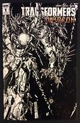Transformers Unicron 1 Comic Book 2018 Sdcc Retailer Exclusive Never Read Idw