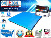 New 5and039x5and039 60 X 60 2500lb X .5lb Floor Scale /pallet Scale With Medal Indic.