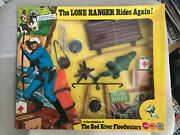 Moc Mosc Mib The Red River Floodwaters Marx Lone Ranger Rides Again Gabriel 1973