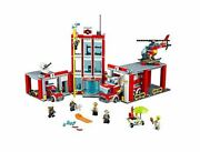 Lego 60110 City Fire Station 919 Pieces Lego Block Toy