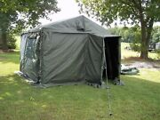 Military 11x11 Command Post Tent +floor+ 2 Tables+liner+4 Boards... Army