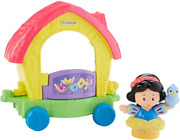 Fisher-price Little People Disney Princess Parade Snow White And Friends Fnr65