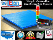 New 60 X 60 Floor Scale Check Weigher / Weight Control / Stag Light System