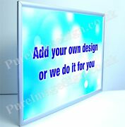 18mm Ultra Slim Led A1 Taille Andagrave Pression Cadre Illuminandeacute Affichage Poster