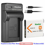Np-bn1 Bc-csn Battery Or Slim Charger For Sony Cyber-shot Dsc-wx70 Wx80 Wx9 Wx7