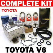 Complete Timing Belt And Water Pump Kit For Toyota 3.4l/v6