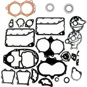 Pro Powerhead Gasket And Seal Set For 1960-1971 Evinrude - Johnson 40 Hp Outboards