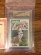 1974 Topps 7 Jim Hunter Oakland Athletics Topps Vault Mint One Of A Kind