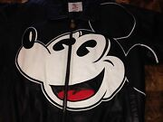 ⭐️ Sale🌟rare Leather Collectable Disney's Mickey Mouse Jacket/coat