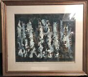 James Leehan Green United States 1911 - 2005 Rare Abstract Watercolor