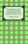 The Great Rejected Books Of The Biblical Apocrypha The Sacred Books Of Early...