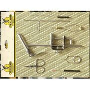 Fly Tying Tool Tool Kit Veniards, Vice, Hackle Pliers,scissors, For Fly Tying