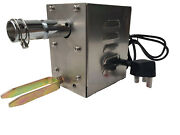 Bbq Rotisserie Hog Roast Spit Motor Electric Turns To 25kg - Stainless Steel 25w