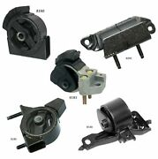 5 Pcs Motor And Trans. Mount Fit 1990-1992 Toyota Corolla 1.6l 2wd 3 Spd- Auto