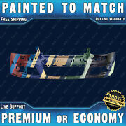 New Painted To Match Front Bumper Exact Fit For 2005-2010 Vw Jetta Gti Type 5