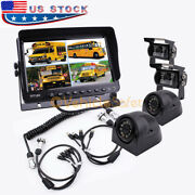 9 Quad Monitor Backup Camera System For The 5th Wheel Travel Trailer Truck Rv