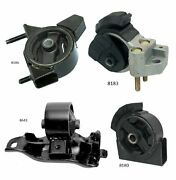 4 Pcs Motor And Trans. Mount Fit 1990-1992 Toyota Corolla 1.6l 2wd 4 Spd
