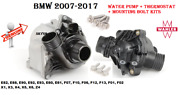 Bmw Cooling Water Pump With Thermostat And Bolts Kit For135 335 535 640 X3 X5 X6