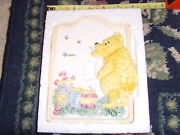 Winnie The Pooh Classic Switch Plate Light Switch Cover Classic Euc Nursery Chic