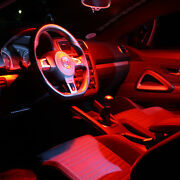 Opel Astra H Gtc Opc - Interior Lights Package Kit - 7 Led - Red 1423