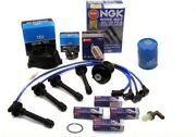 Cap-rotor-ngk Wires-spark Plug-oil-pcv- Tune Up Kit Acura Integra Ls Rs Gs