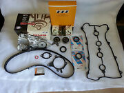 Complete Timing Belt And Water Pump Kit Exact-fit 1.6l For 1990-1993 Mazda Miata
