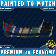 Painted To Match Front Bumper Cover For 11-18 Dodge Grand Caravan And 12-15 Ram Cv