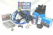 For 00-02 Honda Accord Lx Ex 4cyl Tune-up Cap-rotor-ngk Wires-spark Plug Pcv Kit
