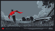 Man Of Steel By Ken Taylor - Variant - Rare Sold Out Mondo Print