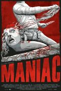 Maniac By Jeff Proctor - Variant - Rare Sold Out Mondo Print