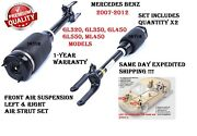 Mercedes Gl320 Gl350 Gl450 Gl550 Ml450 Front Left And Right Air Strut Assembly Set