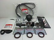 Genuine Timing Belt And Water Pump Kit For Acura Honda V6 Factory Parts