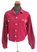Vintage Unique Tex Avery Mens Jeans Jacket Studio Aventures Charles Droopy 1992