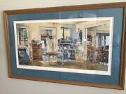 Charles L Peterson And Apple Pie Framed Art-ltd Collectors Edition Free Ship