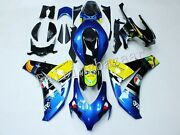Fit For 2008-11 Cbr1000rr Blue Black Yellow Gray Shark Abs Injection Fairing Kit