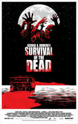 Survival Of The Dead By Charlie Adlard - Rare Sold Out Mondo Print