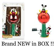 Disney Store Mickey And Minnie Mouse Tree Topper Brand New In Box Lights Up