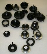 Lot Of Ao American Optical Spencer / Bausch Lomb Microscope Condensers / Parts