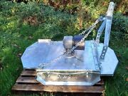 New Galvanised Narrow Topper Mower Ideal For Table Tops