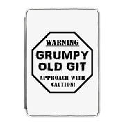 Warning Grumpy Old Git Caution Case Cover For Kindle 6 E-reader Dad Fathers Day