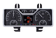 Retro 1940 Ford Car And 1940- 47 Ford Truck Hdx Instruments Hdx-40f Black Face