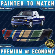 Painted To Match Front Bumper Replacement For 2003-2006 Chevy Silverado Ss Sport