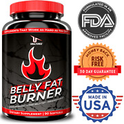 Belly Fat Burner Pills To Lose Stomach Fat - Weight Loss Supplement Men And Women