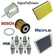 Tune Up Kit Cabin Air Fuel Oil Filters Spark Plugs Fit Volvo S60 2001-2003